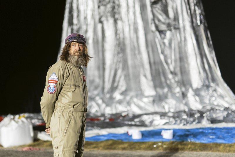 俄羅斯冒險家Fedor Konyukhov的環熱氣球冒險之旅(美聯社)