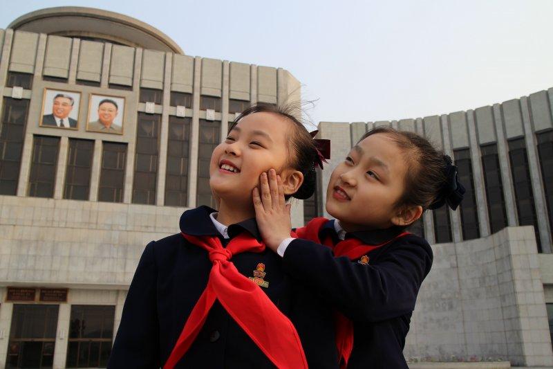 北韓兒童(美聯社)