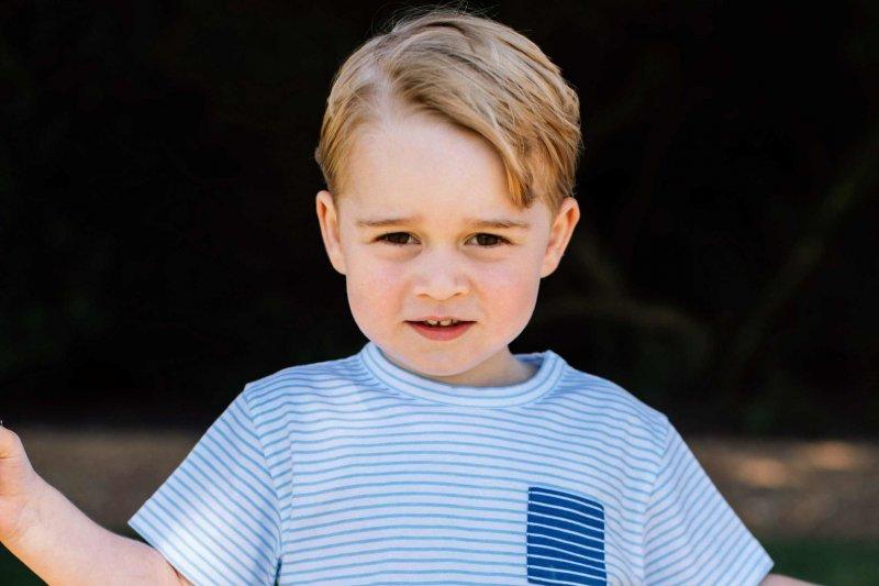 英國小王子喬治(Prince George)過3歲生日(美聯社)
