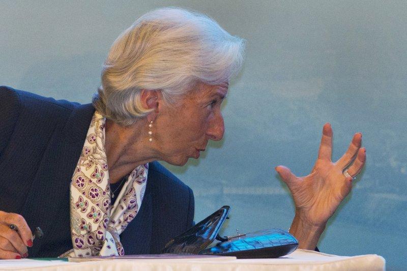 國際貨幣基金組織(IMF)總裁拉加德(Christine Lagarde)(美聯社)