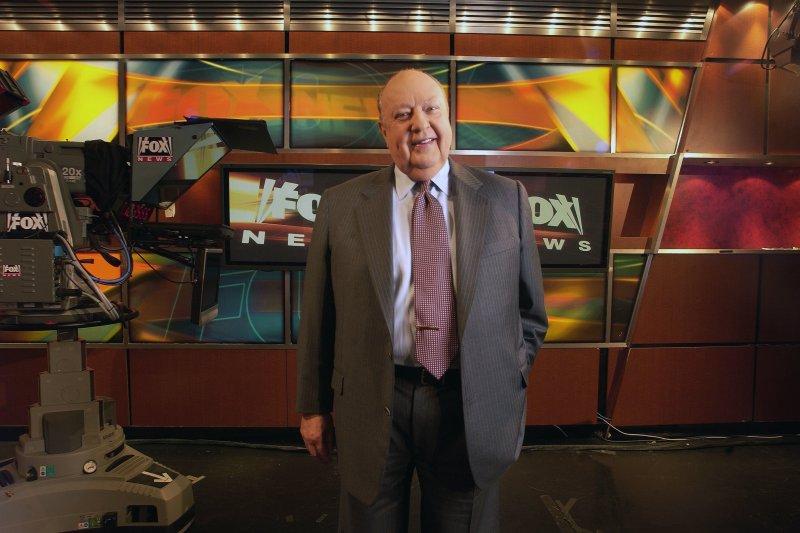 美國最大新聞台「福斯新聞」執行長艾爾斯(Roger Ailes)因性騷擾醜聞閃電辭職。(美聯社)