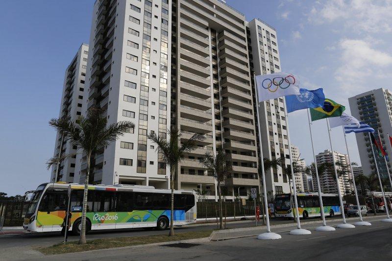 里約奧運,美侖美奐的選手村(美聯社)