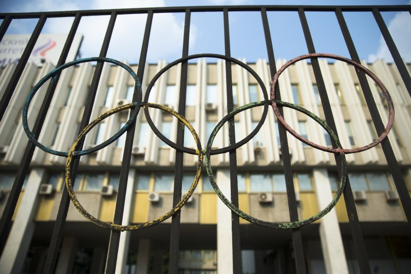 位於莫斯科的俄羅斯奧運委員會。(美聯社)