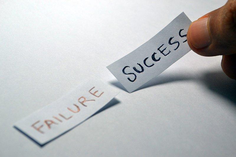 不成功不代表失敗。(圖/pixabay)