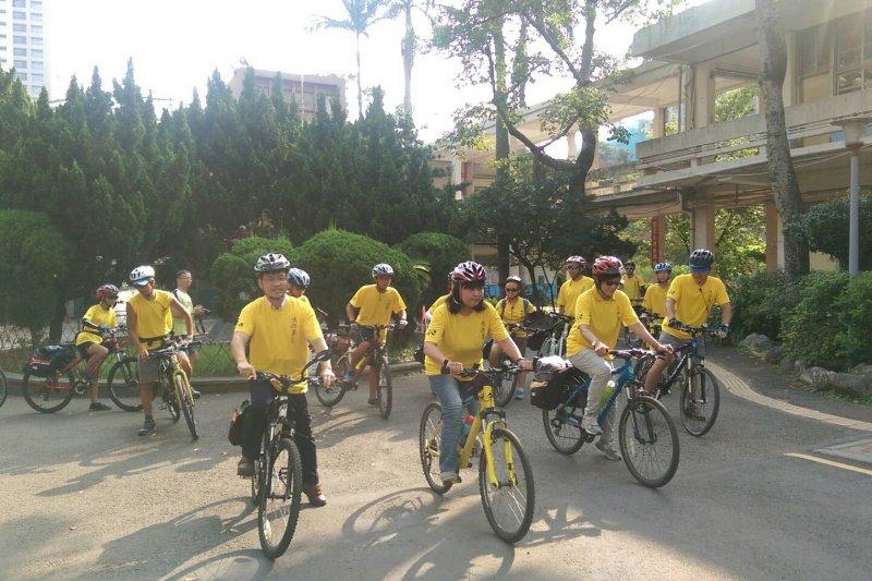 光武國中「法拉第少年」24日出發踏上13天單車環島旅行。(取自新竹市全球資訊網)