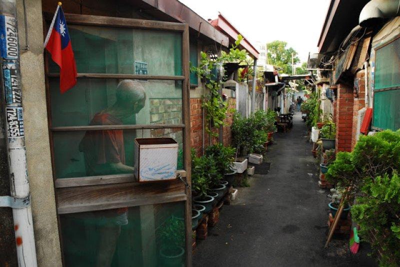 婦聯會第五期眷村(照片由李俊賢提供)