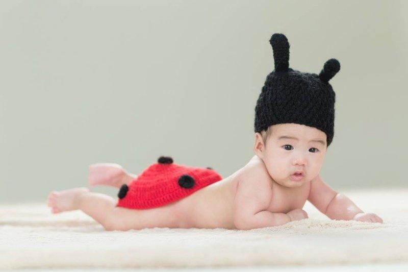 寶寶可愛模樣放上社群網站前,先想想適當與否!(圖/Cathy Pao提供)