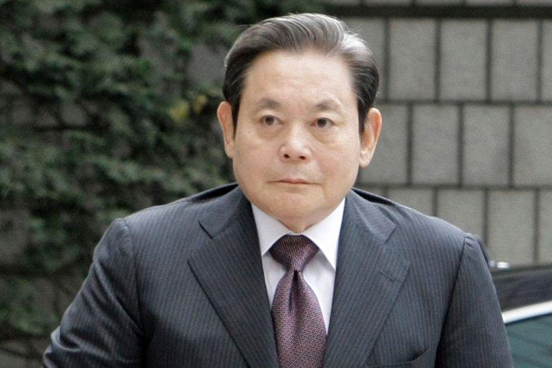 三星前掌門人李健熙於2020年10月去世。(資料照:美聯社)