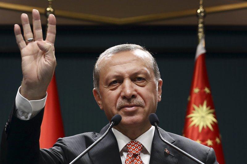 土耳其總統艾爾多安(Recep Tayyip Erdoğan)(美聯社)