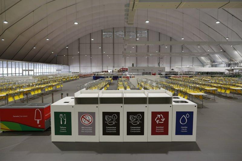 里約奧運選手村。(美聯社)
