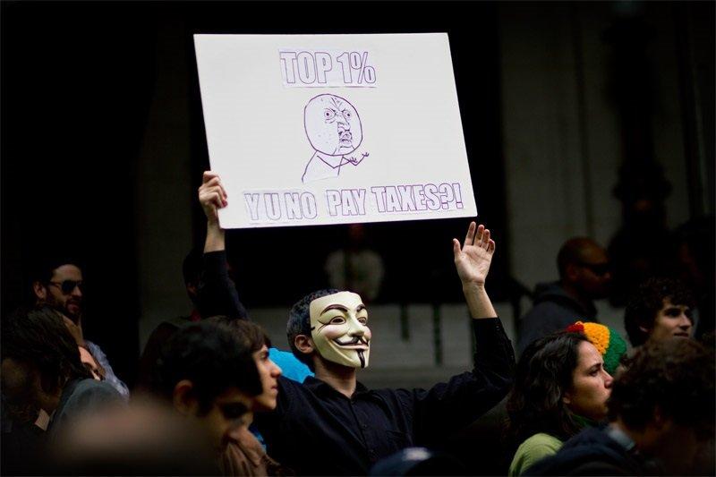 從占領華爾街到保護主義興起,「貧富差距」正在全球醞釀一場「隱含的地殼變動」。(beta.bodhicommons.org)
