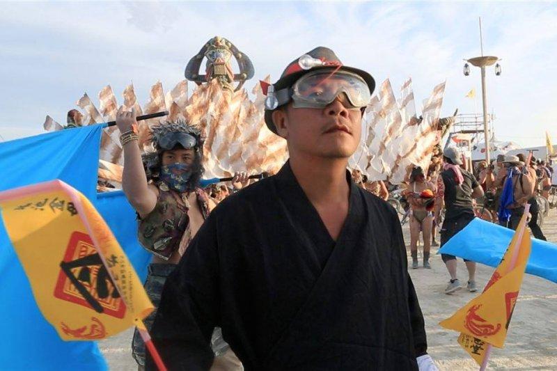 火人祭是設計師們十分嚮往的盛會。(圖/蕭青陽工作室提供)
