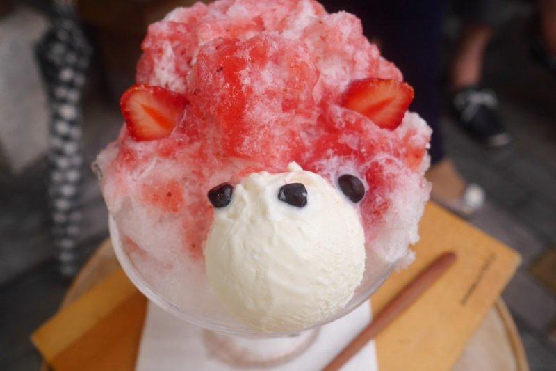 小熊系列冰品超受歡迎!