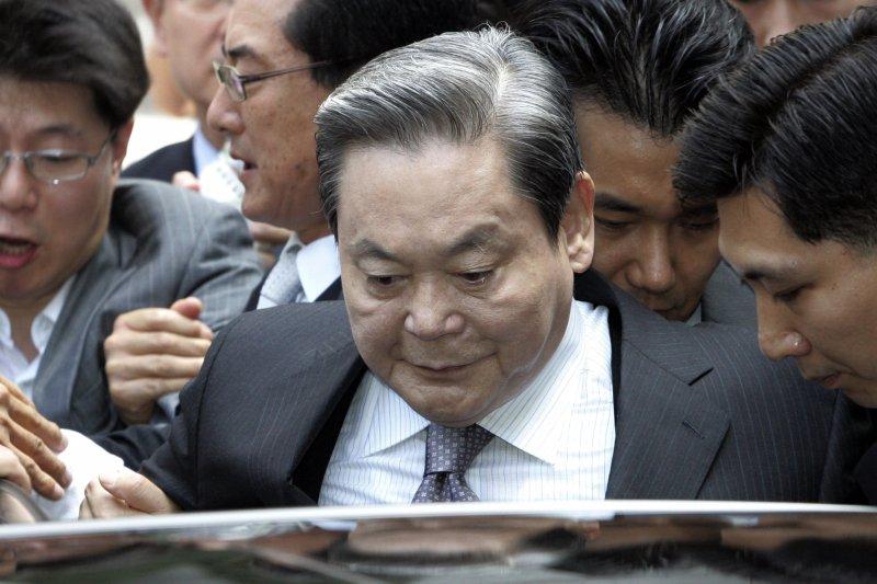 就是他:打敗台灣的男人,南韓頭號財閥、三星集團會長李健熙(美聯社)