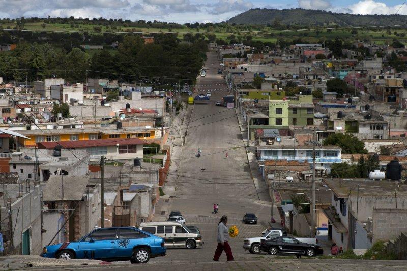 墨西哥的Piedra Canteada螢火蟲公園(美聯社)