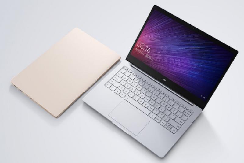 小米27日發表首款筆電「小米筆記本Air」。(翻攝小米官網)