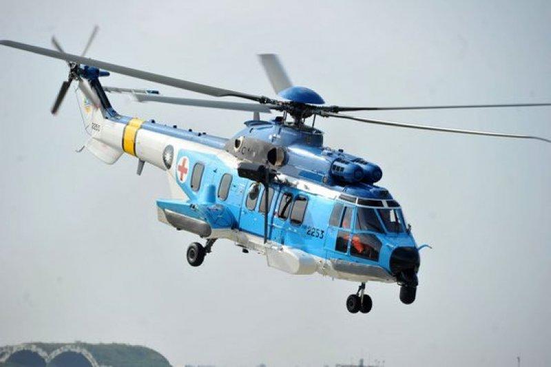 審計部於28日公布的報告中指出,空軍耗資近38億採購的3架EC-225型搜救直升機,無法執行1萬2000呎以上山區起降搜救任務,恐影響高山山難救援。(取自國防部網站)