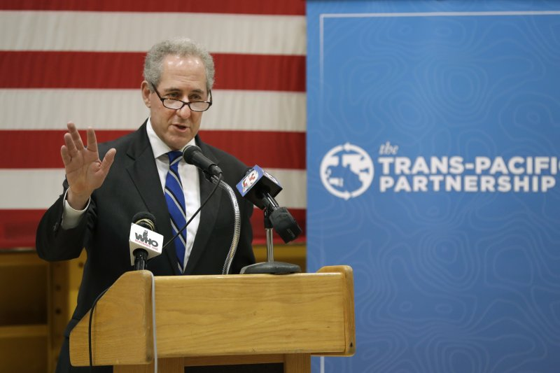 美國首席貿易談判代表佛洛曼(Michael Froman)(美聯社)