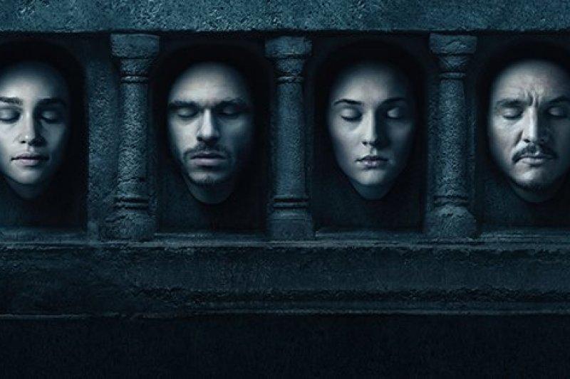《冰與火之歌:權力遊戲》(Game of Thrones)第六季劇照。(取自Game of Thrones臉書)