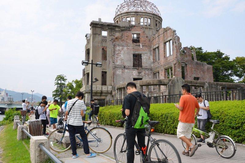 日本Pokémon GO玩家入侵廣島和平紀念公園,引發館方抗議(美聯社)