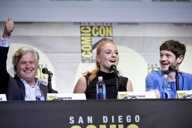 《冰與火之歌:權力遊戲》演員參加在加州聖地牙哥(San Diego)舉行的國際動漫展(Comic-Con International)(美聯社)