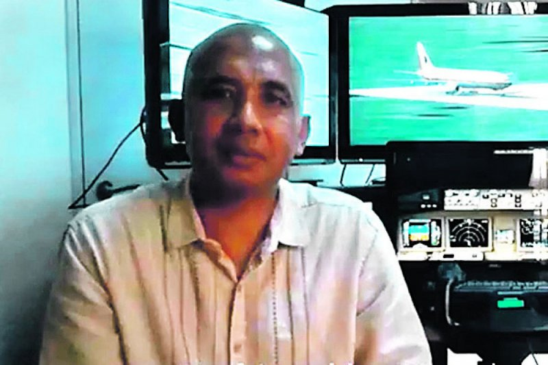 馬航MH370正駕駛札赫里(Zaharie Ahmad Shah)(取自網路)