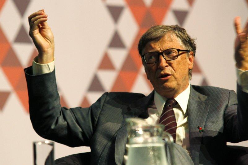 國際愛滋病會議7月在南非德爾班召開,比爾.蓋茲發表演說(美聯社)