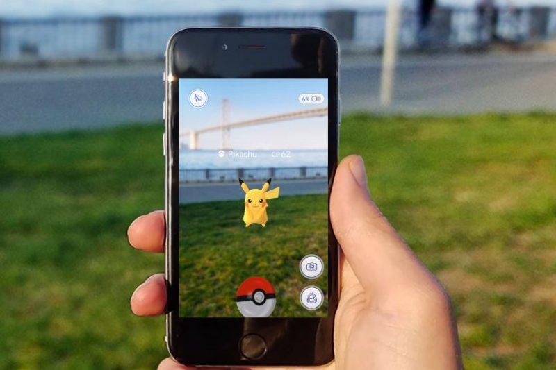 《Pokémon Go》遊戲風靡全球。(翻攝自Niantic, Inc官網)