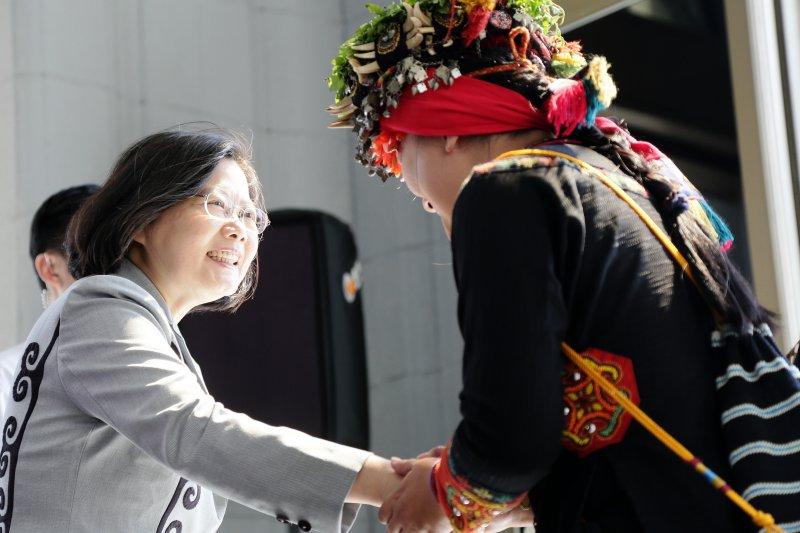 蔡英文總統8月1日代表政府向原住民族道歉(總統府)