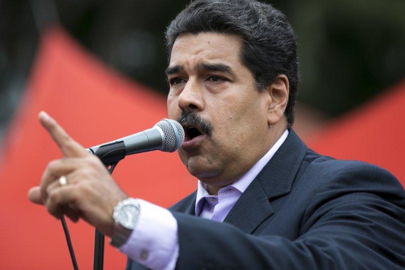 委內瑞拉反對陣營要求舉行公投,罷免總統馬杜洛,目前通過初步連署門檻。(美聯社)
