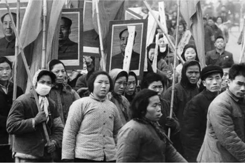 文革消耗中國一代年青人。(美聯社資料照)