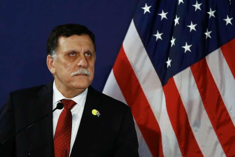 利比亞總理薩拉傑(Fayez al-Sarraj)。(美聯社)