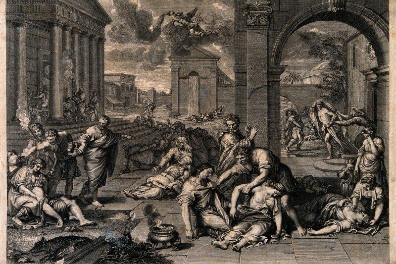 黑死病是14世紀的人類大浩劫(圖/wikimedia)