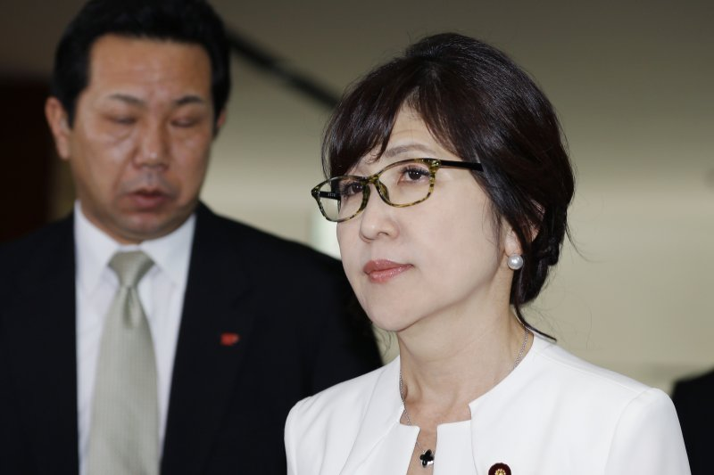 日本防衛大臣稻田朋美(美聯社)