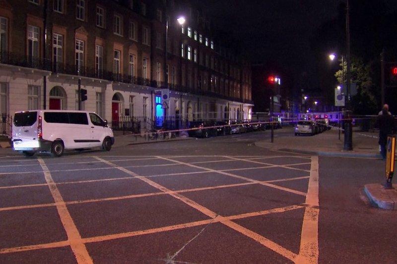 英國倫敦市中心羅素廣場3日深夜驚傳大規模砍人案,造成1死5傷(美聯社)