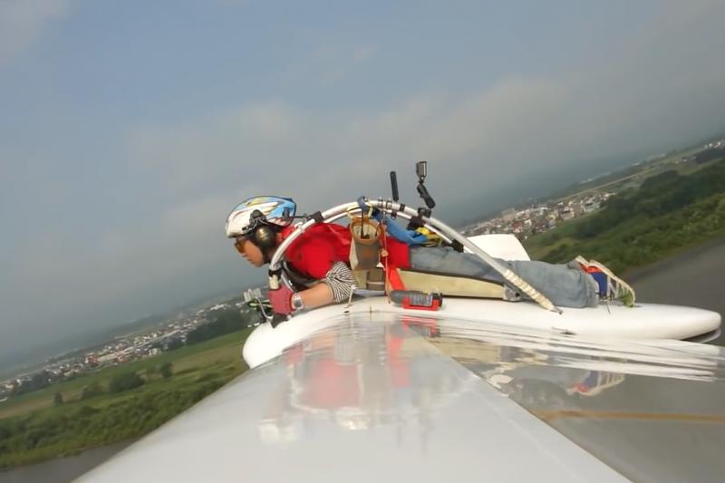 八谷和彥表示還想將這台《風之谷》飛機帶至歐美展示、試飛。(kazuhiko hachiya@youtube截圖)