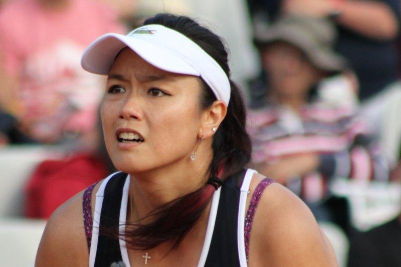 台灣網球女雙選手詹詠然(si.robi@Wikipedia / CC BY-SA 2.0)