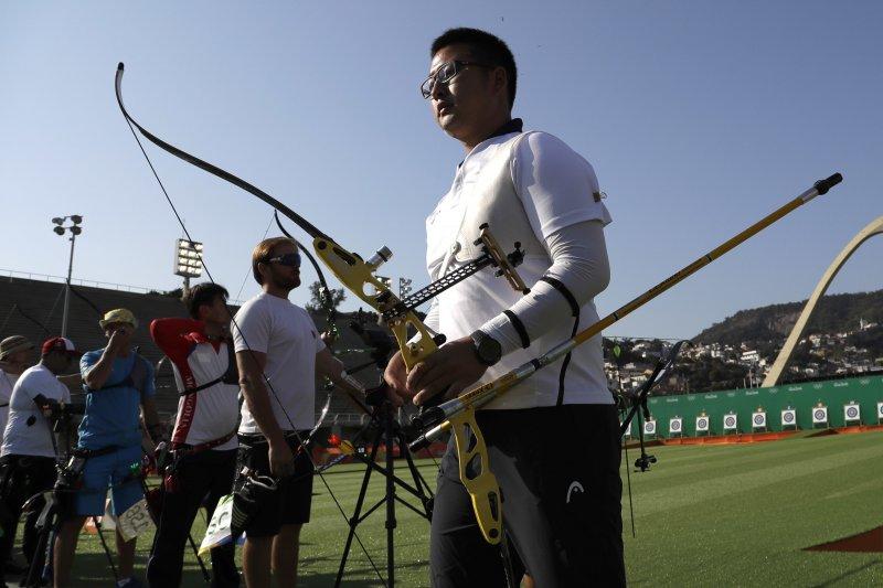 南韓射箭選手金優鎮締造里約奧運第一個世界紀錄(AP)