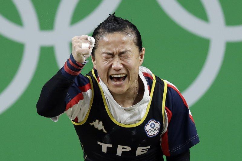 2008年北京奧運中國3舉重金牌用禁藥被驗出,陳葦綾可望遞補金牌。(資料照,美聯社)