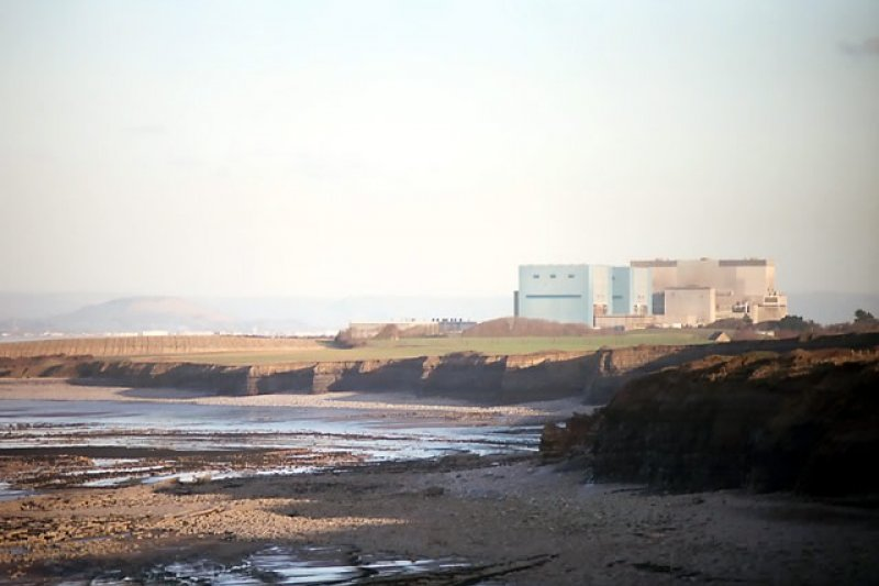 辛克利角(Hinkley Point)核電廠(Richard Baker@Wikipedia / CC BY-SA 2.0)