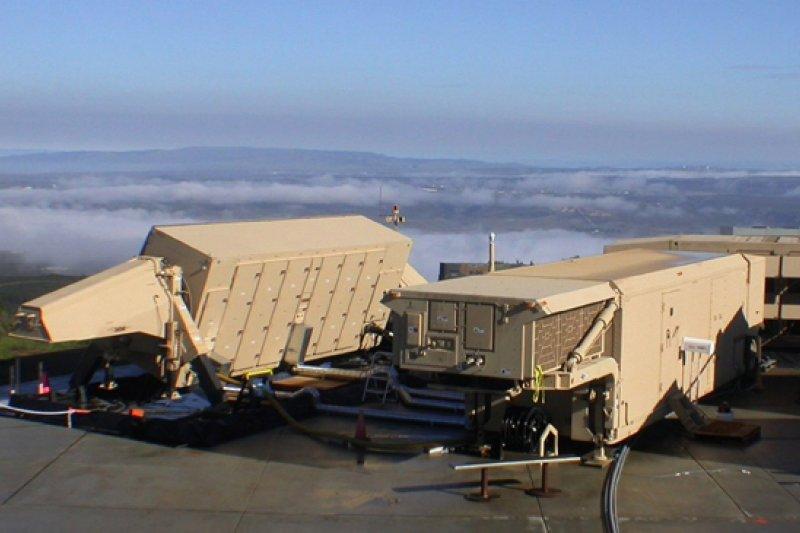 薩德(THAAD)的X波段雷達「AN/TPY-2」(US Army@Wikipedia, Public Domain)
