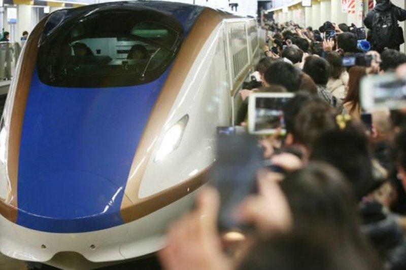 日本新幹線高鐵技術與中國和諧號持續爭奪海外市場。(BBC中文網)