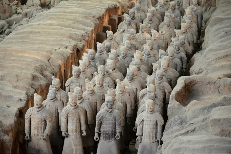 中國許多古文物許多來自於神秘的秦朝(圖/Jack78@pixabay)