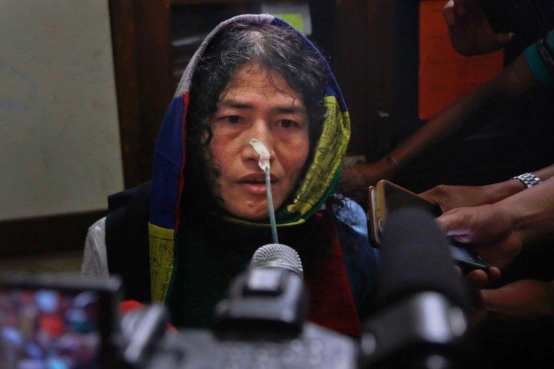 莎米拉離開法庭後受媒體採訪。(美聯社)
