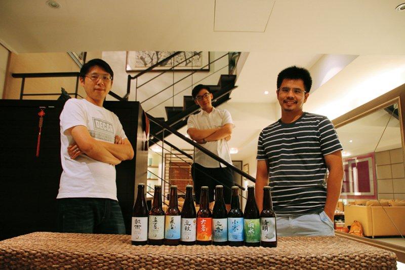 「一年二十四節氣,都應該有適合喝的啤酒!」這是啤酒頭的創辦理念,不只夏天適合喝啤酒(圖/天下雜誌提供)
