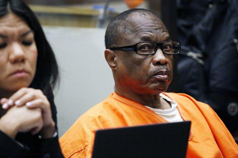 外號「陰沉睡魔」(Grim Sleeper)的美國63歲男子法蘭克林(Lonnie David Franklin Jr.)(AP)