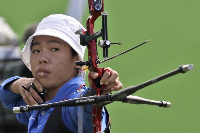 2020年東京奧運射箭代表隊選拔賽最終輪今天登場,譚雅婷希望用平常心面對比賽,努力拿出好表現。(AP)