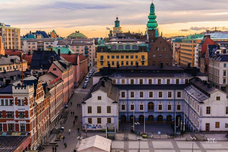 在瑞典租屋的房客,權益受到政府政策很大的保障,因此大多數國民願意終生租屋。(圖/Tommie Hansen@Flickr)