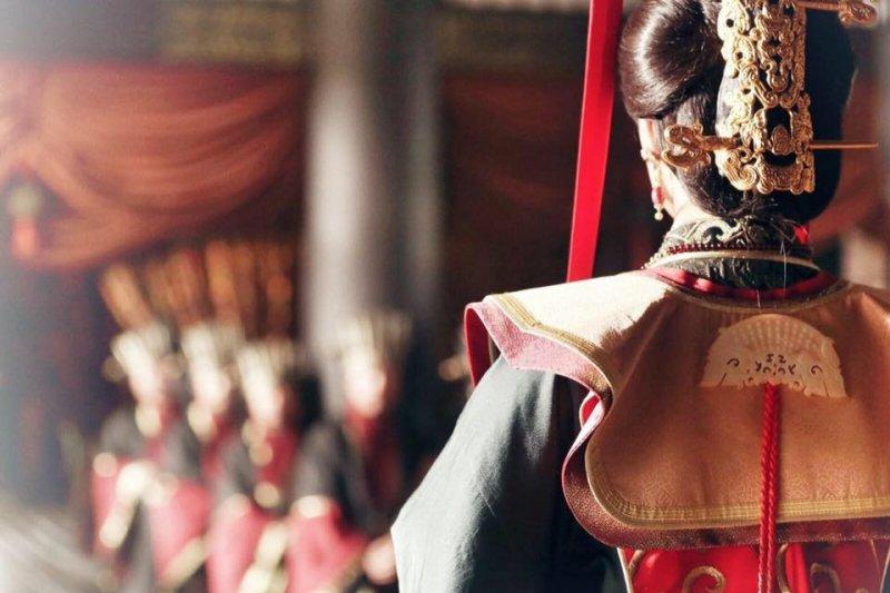 秦朝女子並非生在平常人家就委屈,生在帝皇家就顯貴(圖/羋月傳@facebook)