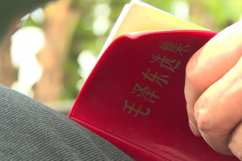香港「六七暴動」期間,左派分子充滿毛澤東思想。(人文影像工作室提供)